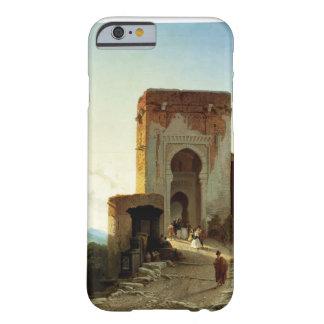 Porte de Justice, Alhambra, Granada (oil on canvas Barely There iPhone 6 Case