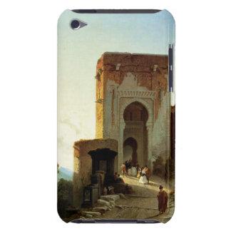 Porte de Justice, Alhambra, Granada (oil on canvas iPod Case-Mate Case
