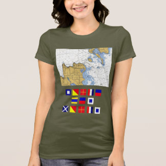Porte Des Morts, WI Deaths Door, Nautical T-shirt