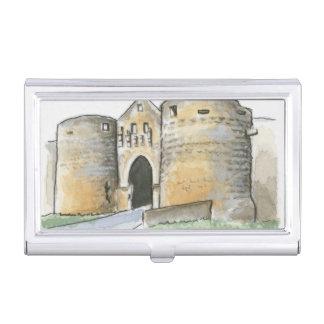 Porte des Tours, France Business Card Holder
