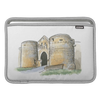 Porte des Tours, France MacBook Sleeve