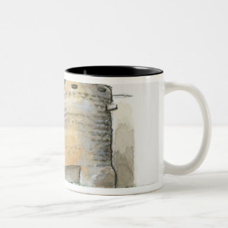 Porte des Tours, France Two-Tone Coffee Mug