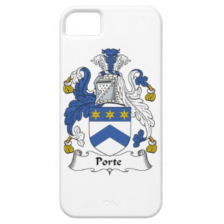 Porte Family Crest iPhone 5 Covers