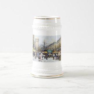 Porte Saint-Denis,Paris 18 Oz Beer Stein