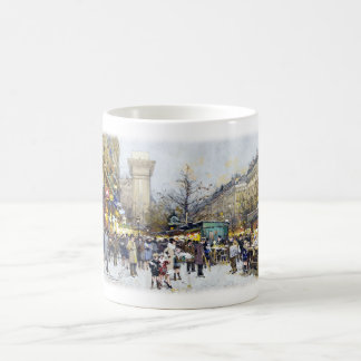 Porte Saint-Denis,Paris Classic White Coffee Mug