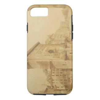 Porte St Denis, Paris (w/c) iPhone 8/7 Case