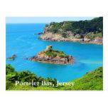 Portelet Bay, Jersey Postcard