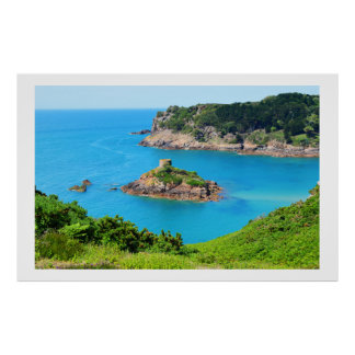 Portelet bay, Jersey Poster