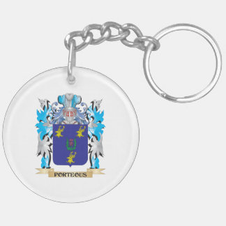 Porteous Coat of Arms - Family Crest Acrylic Key Chain