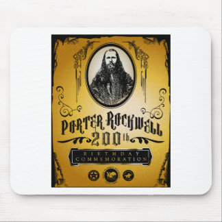 Porter Rockwell 200th Birthday - Color Mouse Pad