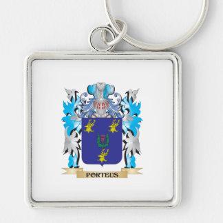 Porteus Coat of Arms - Family Crest Key Chains