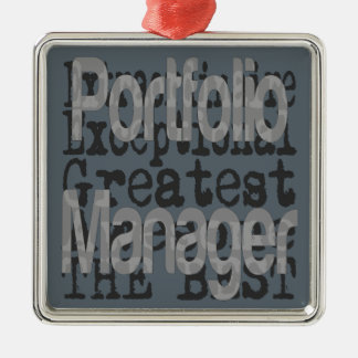 Portfolio Manager Extraordinaire Christmas Ornament