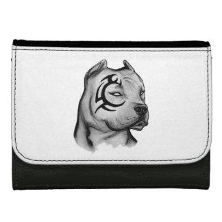 portfolio pitbull leather wallet for women