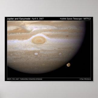 Portfolio Poster - Jupiter and Ganymede Print