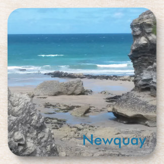Porth Beach Newquay Corwall England Coaster