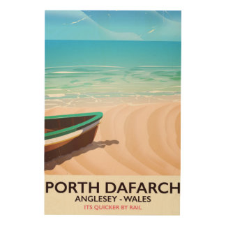 Porth Dafarch, Anglesey Welsh beach poster