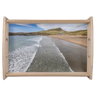 Porth Mawr Whitesands Bay Wales Serving Tray