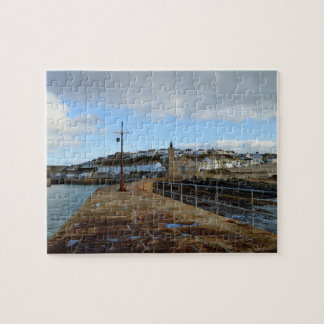 Porthleven Cornwall England in Winter Puzzle
