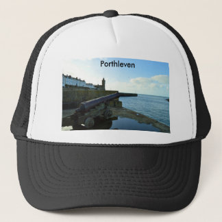 Porthleven Cornwall England Trucker Hat