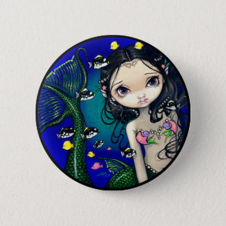 """Porthole Mermaid"" Button"