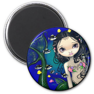 """Porthole Mermaid"" Magnet"