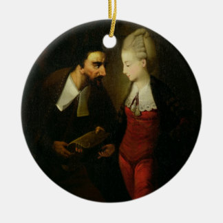 Portia and Shylock from 'The Merchant of Venice' A Christmas Ornament