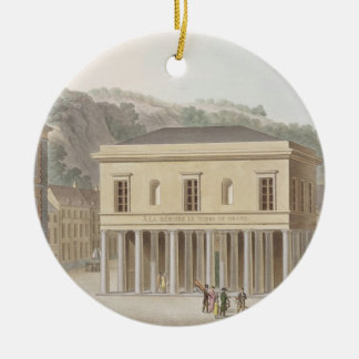 Portico of the Fountain of Pouhon at Spa, from 'Ch Christmas Ornament
