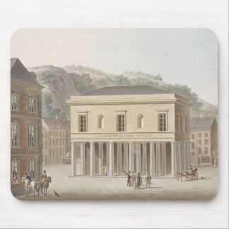 Portico of the Fountain of Pouhon at Spa, from 'Ch Mouse Mat