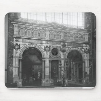 Portico of the Silversmith Pavilion Mouse Pad