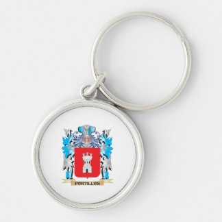 Portillos Coat of Arms - Family Crest Keychains