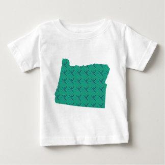 Portland Airport carpet Oregon map Baby T-Shirt