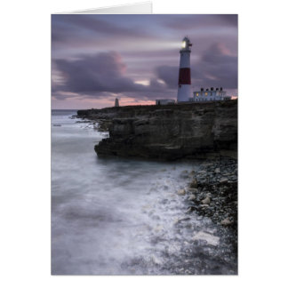 Portland Bill All Lit Up Card