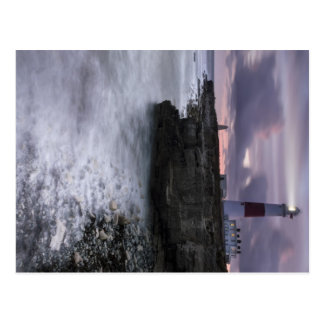 Portland Bill All Lit Up Postcard