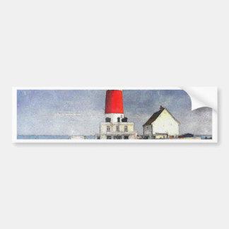 Portland Bill Lighthouse Bumper Sticker