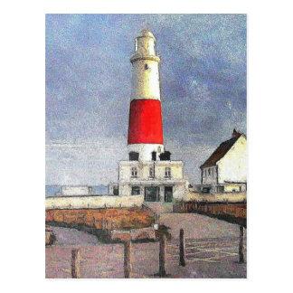 Portland Bill Lighthouse Postcard