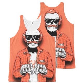 Portland Bone Thug All-Over Print Tank Top