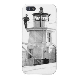 Portland Breakwater Lighthouse 2 iPhone 5 Cover