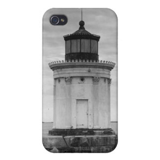 Portland Breakwater Lighthouse 3 iPhone 4 Cover