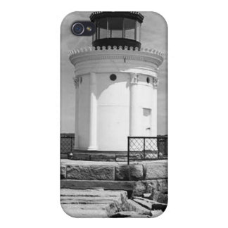 Portland Breakwater Lighthouse iPhone 4/4S Cases