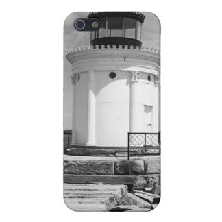 Portland Breakwater Lighthouse iPhone 5 Covers