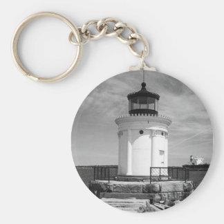 Portland Breakwater Lighthouse Key Chains