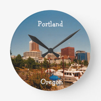 Portland by the River Clock