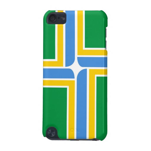 portland city flag case united states of america iPod touch (5th generation) case