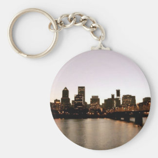 Portland Cityscape Keychains