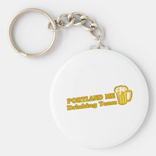 Portland Drinking Team tee shirts Keychain