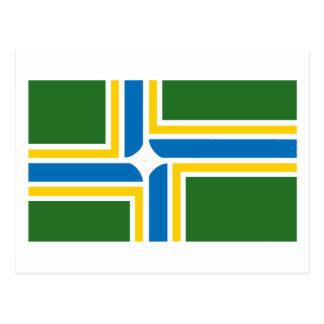 Portland Flag Postcard