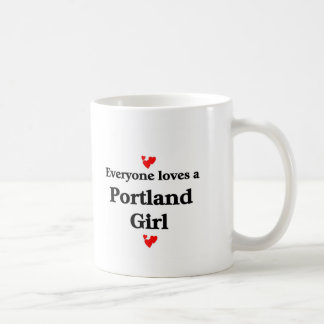 Portland Girl Basic White Mug