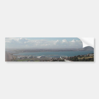 Portland Harbour. Dorset, UK. Bumper Sticker