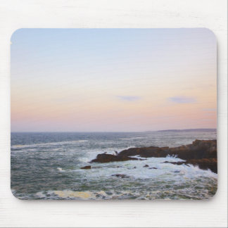 Portland Head and view to Atlantic Ocean Mouse Mat