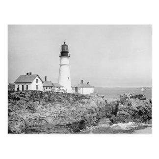 Portland Head Light, 1902 Postcard
